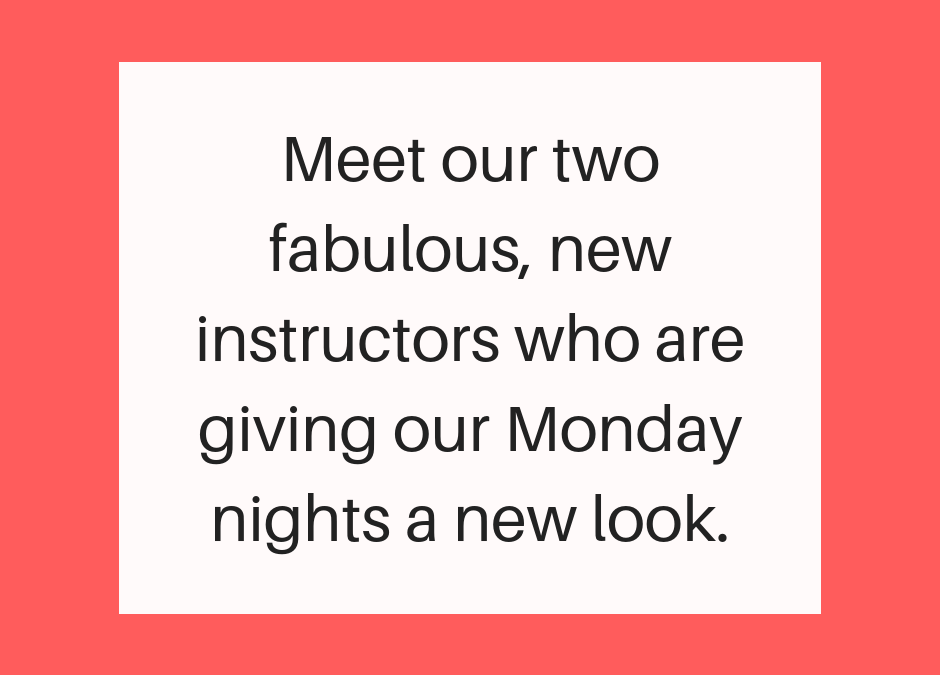 New look Monday nights at Purely Pilates