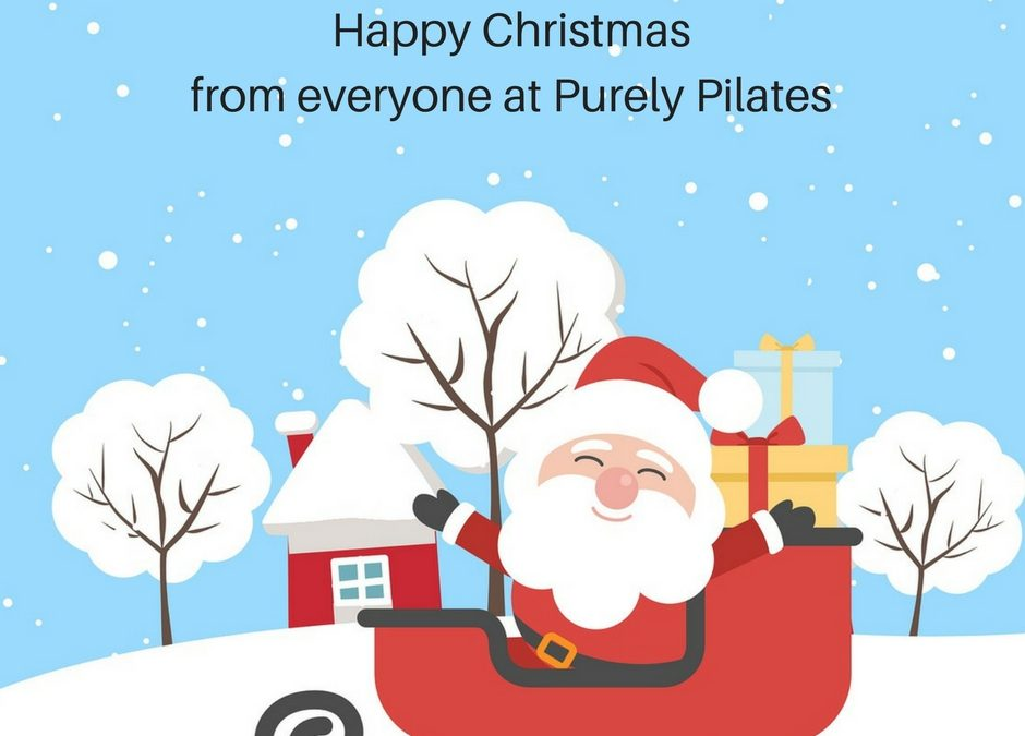 Happy Christmas from Purely Pilates