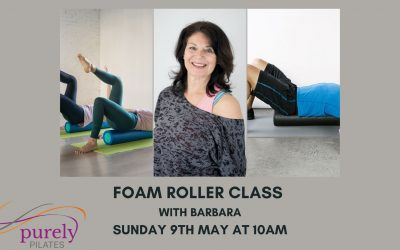 Foam Roller class with Barbara