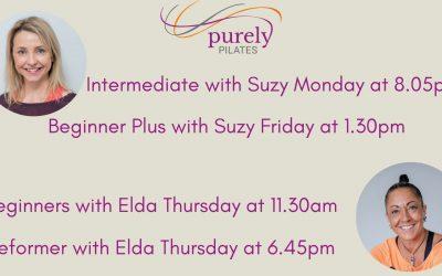 Suzy and Elda's new classes